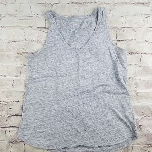 Old Navy Everyday Gray Heather Tank Top Active M